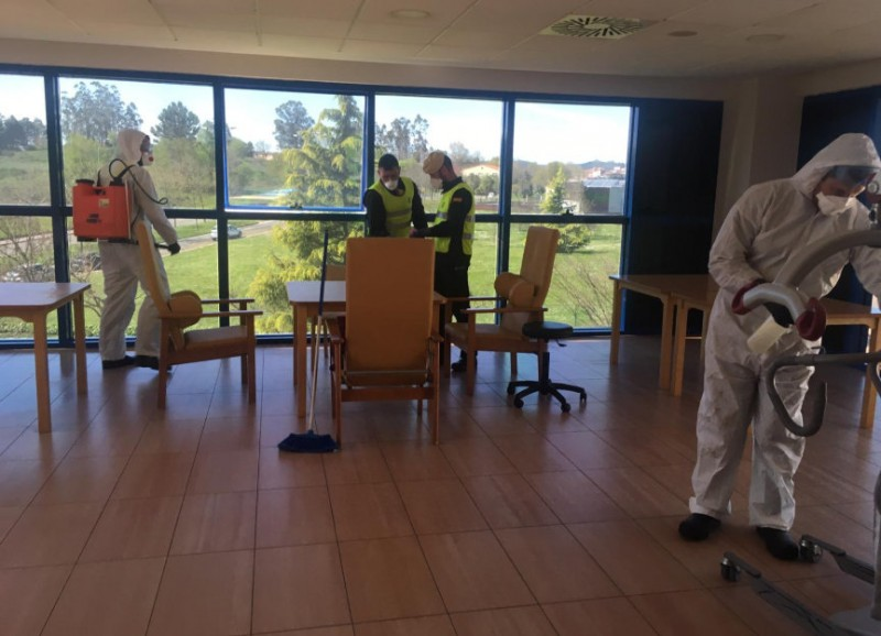 125 coronavirus cases in 8 homes for the elderly in the Region of Murcia