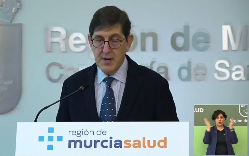 Murcia health minister warns that more hard days lie ahead
