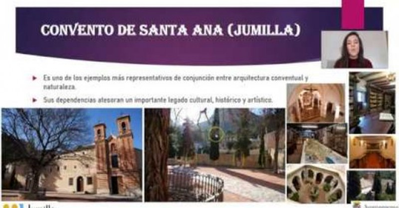 <span style='color:#780948'>ARCHIVED</span> - Virtual guided tour of the Convent of Santa Ana in Jumilla