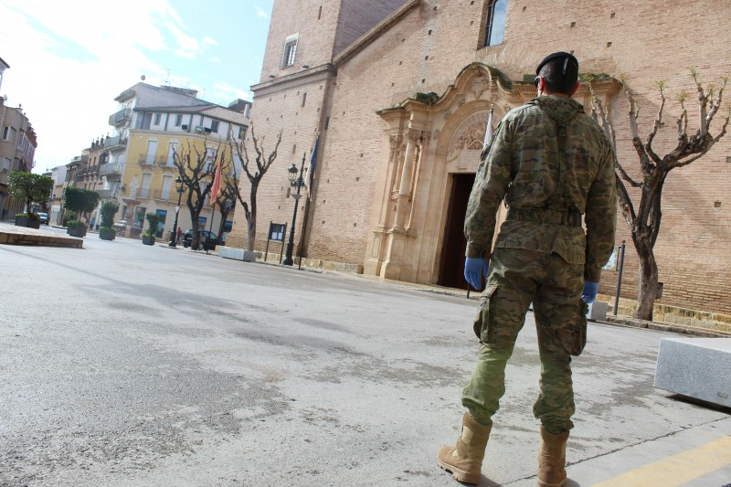 <span style='color:#780948'>ARCHIVED</span> - Armed forces continue to offer support in the Murcia Region during coronacrisis