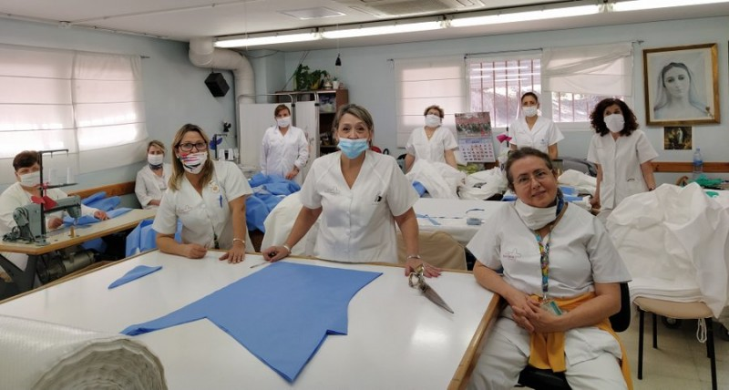 Murcian health service says leave mask-making to the professionals