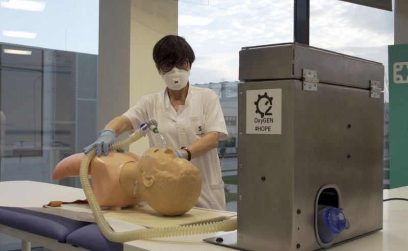 Seat adapts its production line to manufacture 300 respirators a day