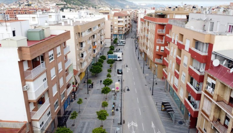 <span style='color:#780948'>ARCHIVED</span> - Drones help enforce lockdown restrictions in Lorca