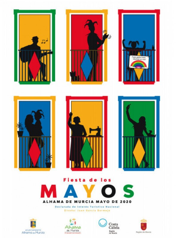 <span style='color:#780948'>ARCHIVED</span> - 20th April to 3rd May, Los Mayos fiestas at home in Alhama de Murcia 2020