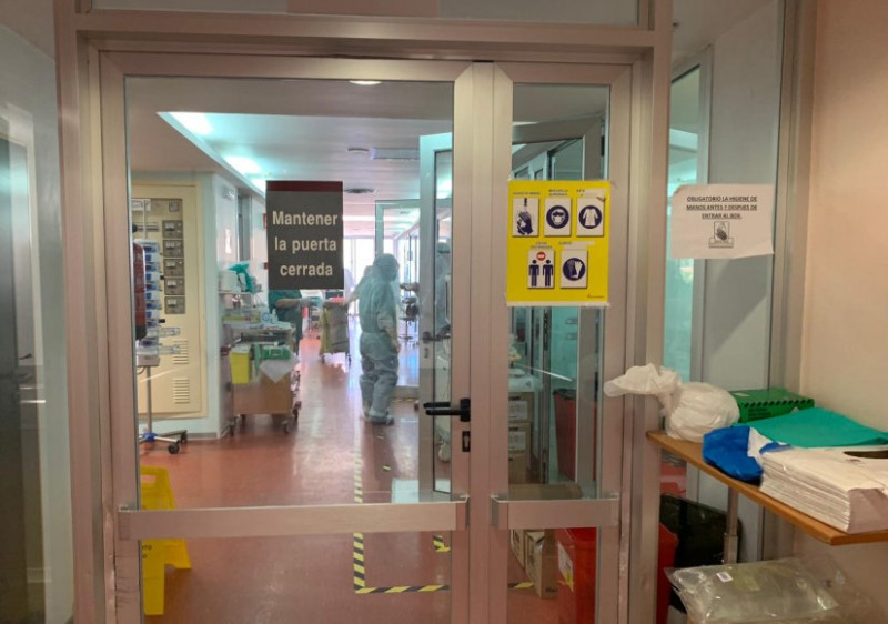 <span style='color:#780948'>ARCHIVED</span> - Fewer coronavirus patients in Murcia hospitals as lockdown begins to de-escalate tentatively
