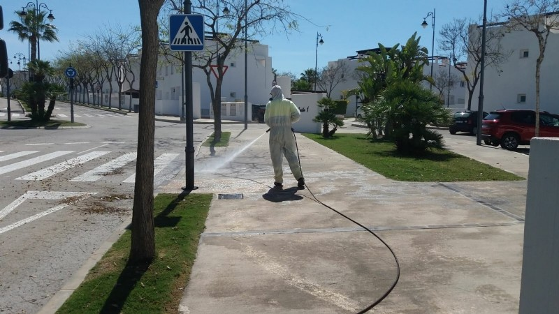 <span style='color:#780948'>ARCHIVED</span> - Disinfection completed on Condado de Alhama