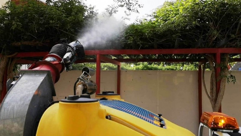 <span style='color:#780948'>ARCHIVED</span> - Murcian town halls step up spraying against the tiger mosquito