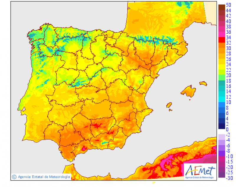 <span style='color:#780948'>ARCHIVED</span> - High temperatures set to continue until the weekend across the Murcia Region