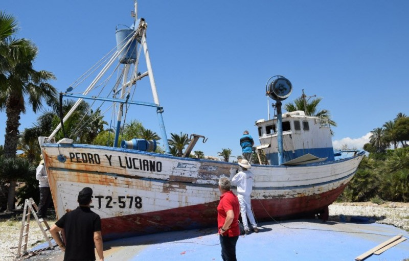 15,000 Euros to give Pedro y Luciano a facelift in the Puerto de Mazarrón