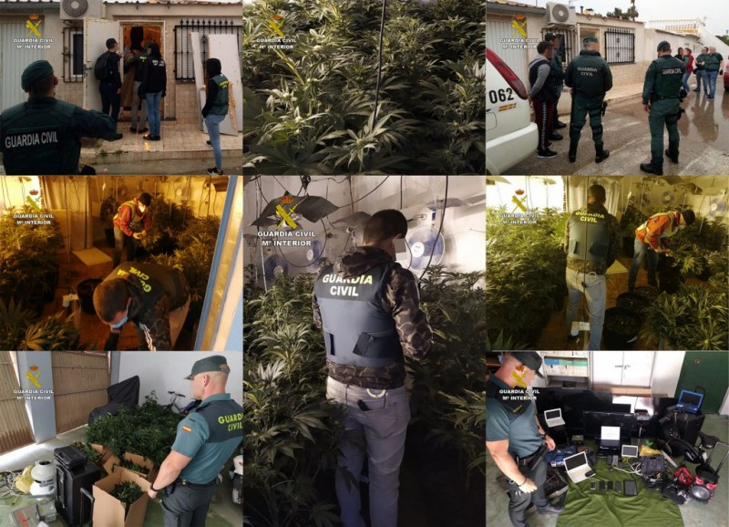 Major Mar Menor drugs ring busted in san Javier and san Pedro del Pinatar