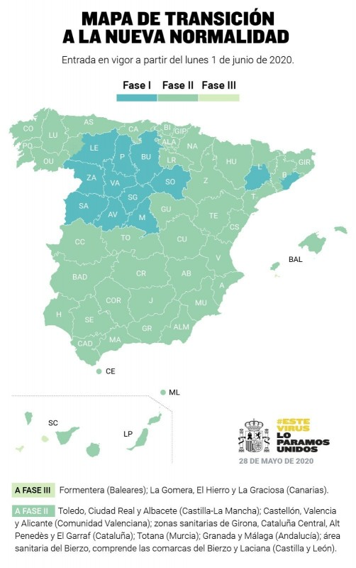 <span style='color:#780948'>ARCHIVED</span> -  Murcia government opts to stay in phase 2 and Totana will rejoin the region on Monday