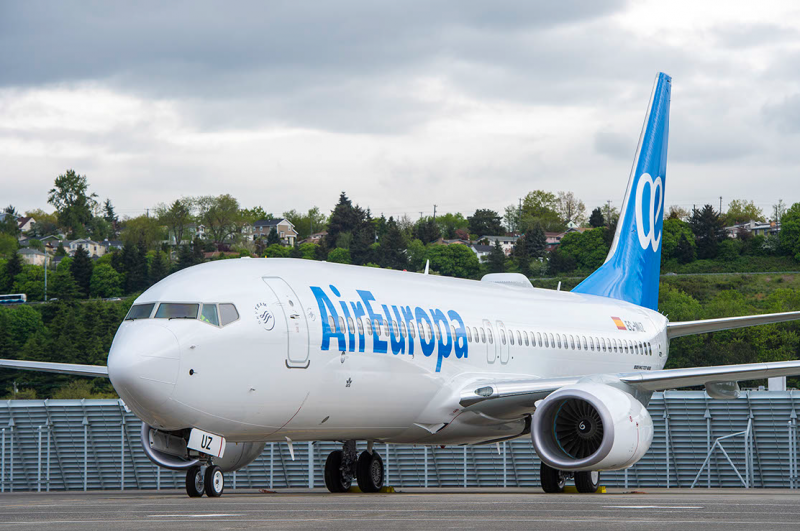 <span style='color:#780948'>ARCHIVED</span> - Air Europa resumes flights to Canary and Balearic islands from 22nd June
