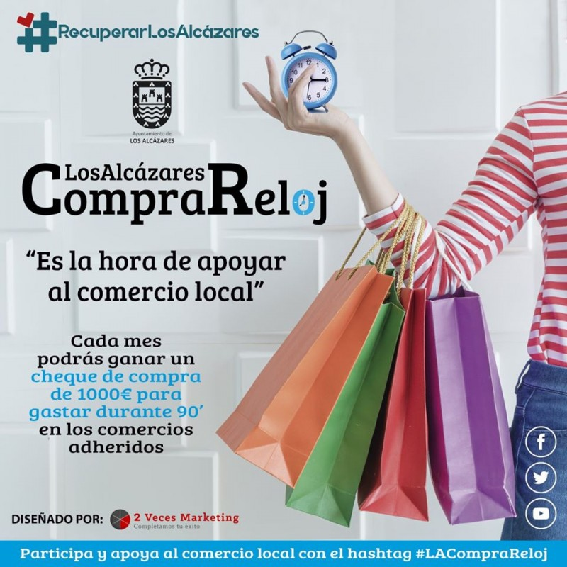 <span style='color:#780948'>ARCHIVED</span> - Buy locally say Los Alcázares businesses