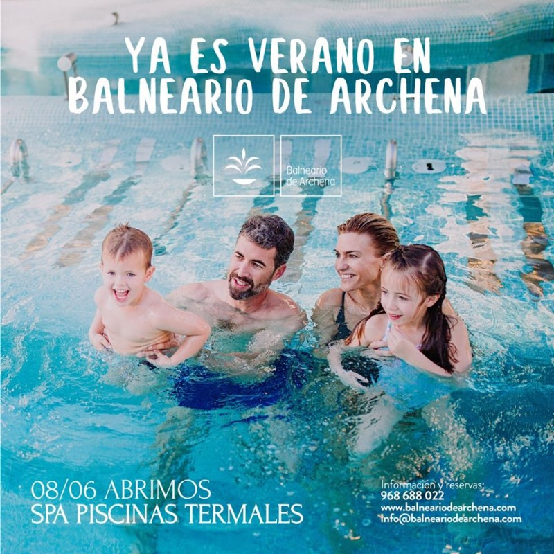 <span style='color:#780948'>ARCHIVED</span> - Archena Balneario re-opens with stringent safety measures in place