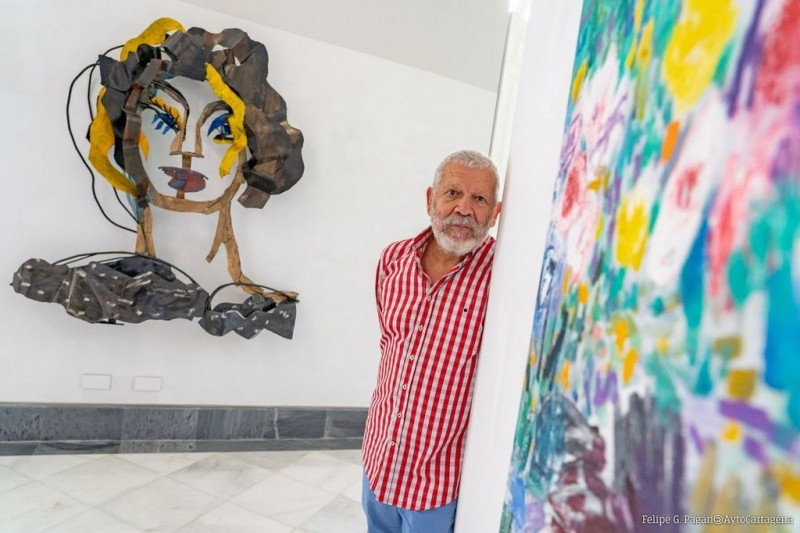 Rio de Flores by Willy Ramos in Cartagena: 18th June to 28th September