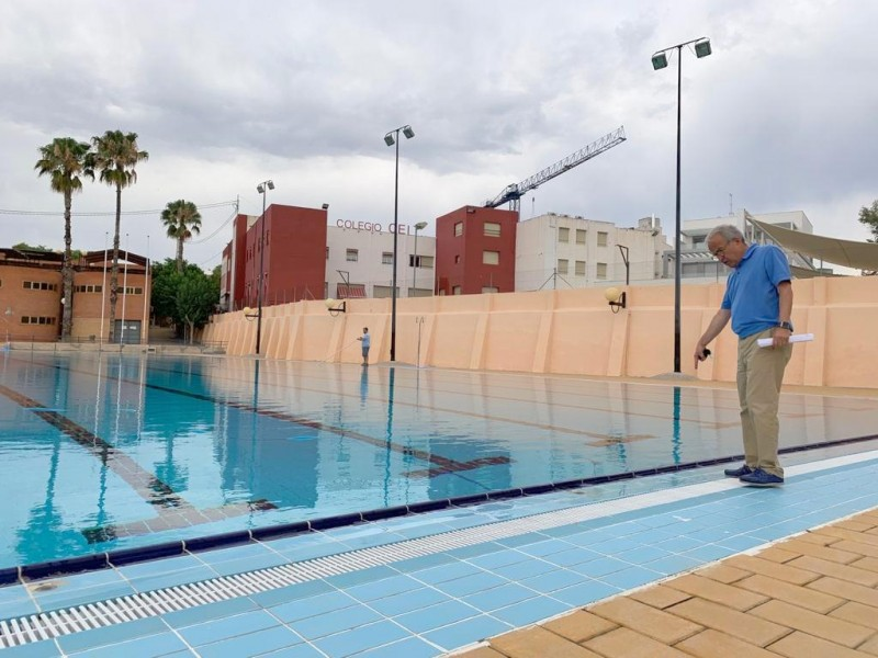 Outdoor public swimming pools will open in 11 districts of the Murcia municipality this year