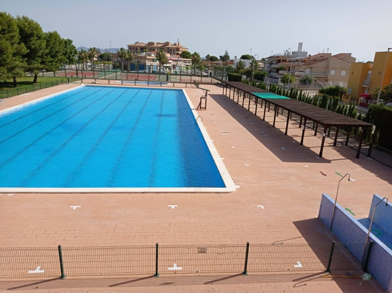 <span style='color:#780948'>ARCHIVED</span> - Los Alcázares sports centre re- opens on 1st July