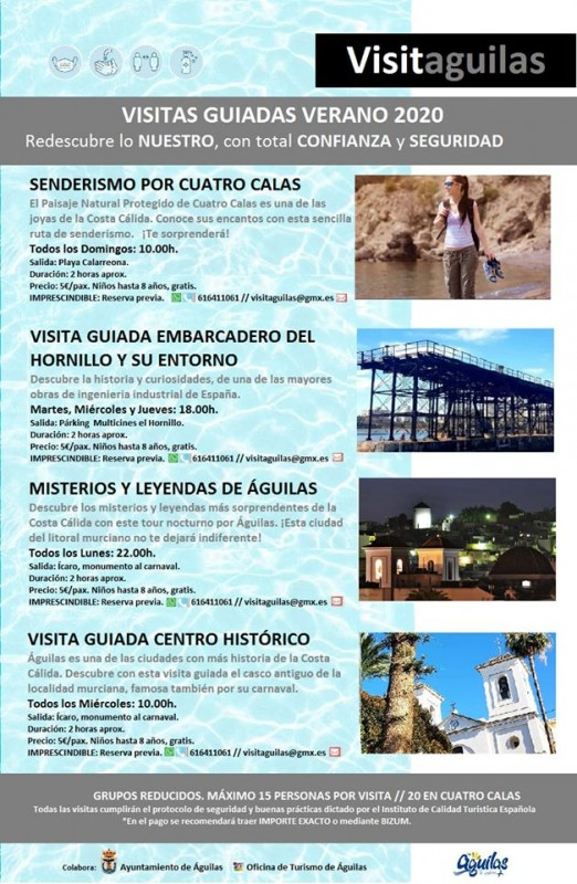 <span style='color:#780948'>ARCHIVED</span> - Águilas offers guided walks and visits throughout the summer