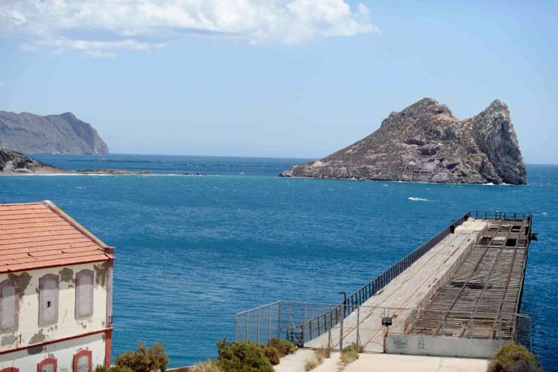 18th October guided route of the railways tour in Águilas (Spanish language)