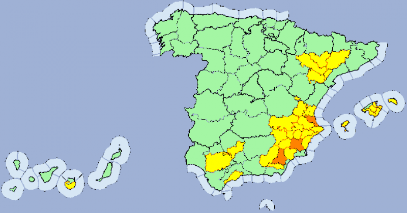 <span style='color:#780948'>ARCHIVED</span> - Hottest place in Spain on Tuesday was Toledo with 39.9 degrees Celsius