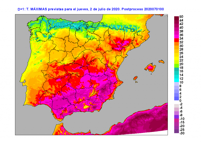 <span style='color:#780948'>ARCHIVED</span> - Murcia exceeds 40 degrees and the heat alerts continue on Thursday
