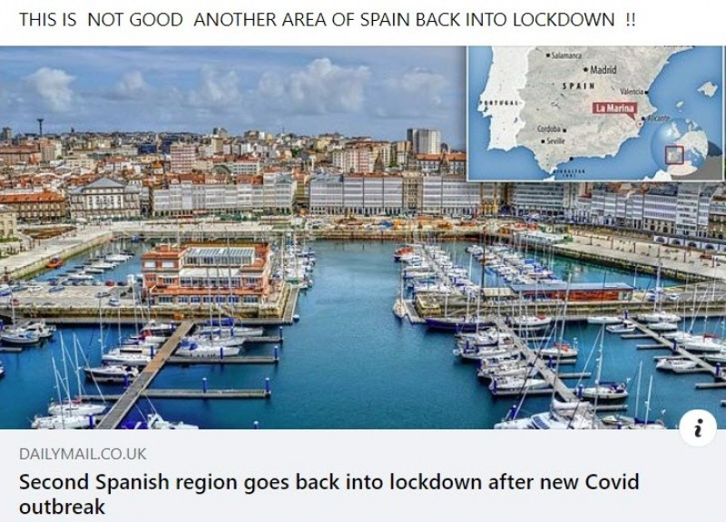 Media in a muddle over new Spanish lockdowns