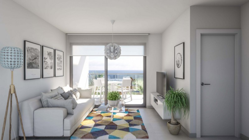 Move in this summer to brand new beachfront homes in Puerto de Mazarrón