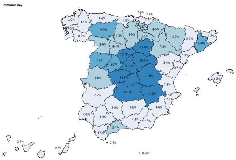 Only 1.6 per cent of Murcians have Covid antibodies; the lowest level on mainland Spain