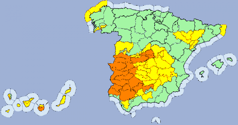 <span style='color:#780948'>ARCHIVED</span> - Andalusia was hottest place in Spain on Monday with 43.6 degrees in Huelva