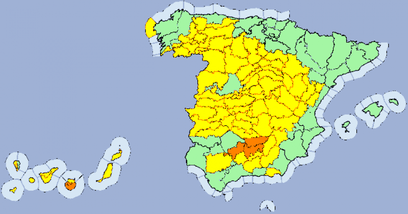 <span style='color:#780948'>ARCHIVED</span> - Maximums of 37 in the Murcia region on Wednesday