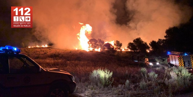 <span style='color:#780948'>ARCHIVED</span> - Three fires overnight caused by lightning strike