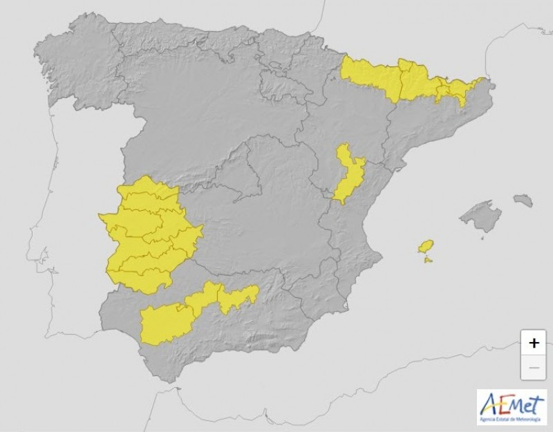 <span style='color:#780948'>ARCHIVED</span> - Ciudad real hottest place in Spain on Thursday