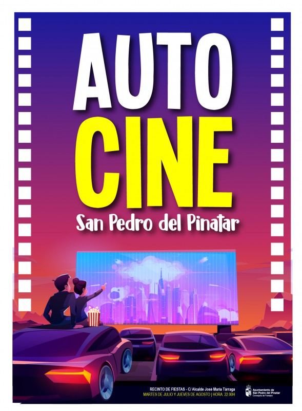 <span style='color:#780948'>ARCHIVED</span> - Tuesday night auto-cine in San Pedro del Pinatar