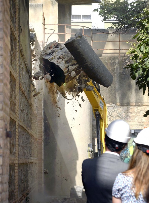 Murcia city council demolishes walls of the old jail to create cultural centre