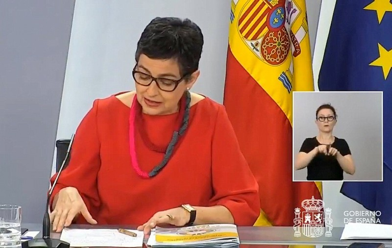 <span style='color:#780948'>ARCHIVED</span> -  Spanish Foreign Minister rejects prospect of French-Spanish border closing