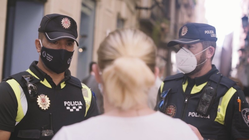 <span style='color:#780948'>ARCHIVED</span> - Police are actively issuing fines for not wearing masks in the Region of Murcia