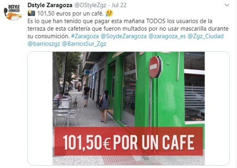 <span style='color:#780948'>ARCHIVED</span> - 101.50 Euros for a coffee in Zaragoza