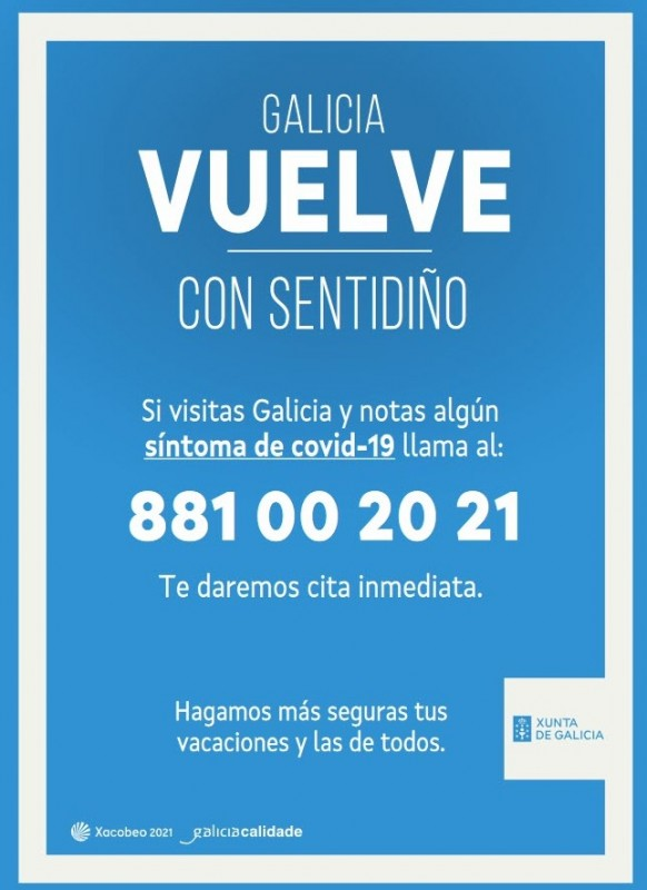 Travellers visiting Galicia from areas with outbreaks must supply contact details