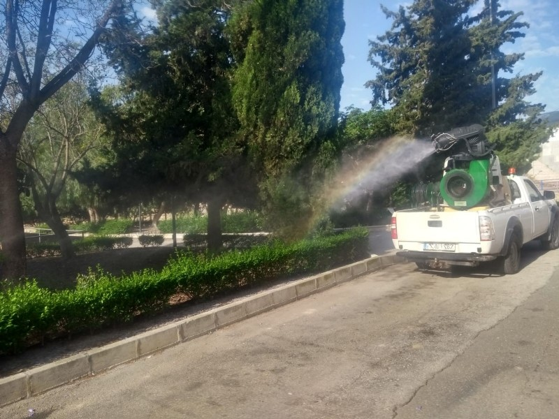 <span style='color:#780948'>ARCHIVED</span> - Major mosquito spraying in Alhama de Murcia on Friday