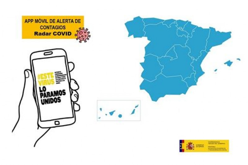 <span style='color:#780948'>ARCHIVED</span> - Spanish Covid Radar tracker app can launch nationally in September following successful trials