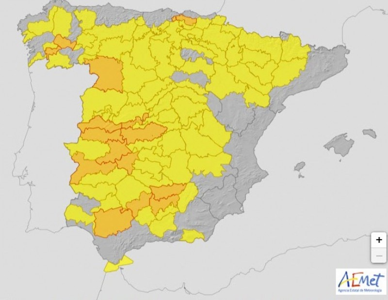 <span style='color:#780948'>ARCHIVED</span> - No heat alerts for Murcia, but 38 provinces of Spain are on alert for high temperatures