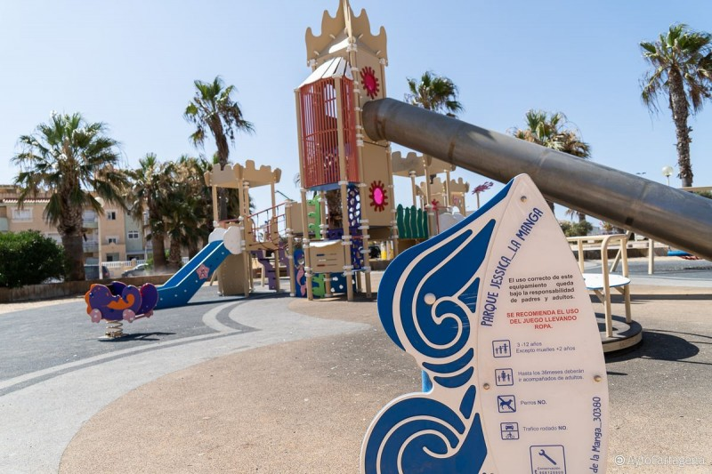 <span style='color:#780948'>ARCHIVED</span> - 325,000 euros to improve park areas on La Manga del Mar Menor