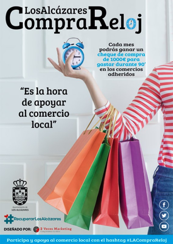 <span style='color:#780948'>ARCHIVED</span> - Los Alcázares shopping competition for 1000 euro shop against the clock
