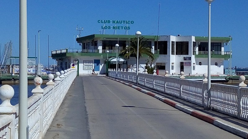 <span style='color:#780948'>ARCHIVED</span> - Communal areas of Los Nietos yacht and sailing club closed due to Covid