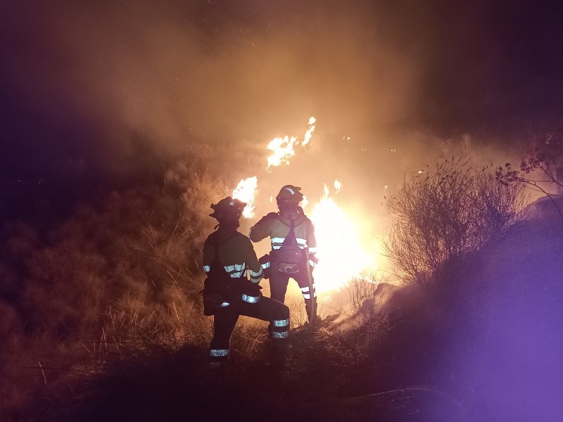 <span style='color:#780948'>ARCHIVED</span> - Fire in the sierra de La Carrasquilla in Lorca covered 44 hectares