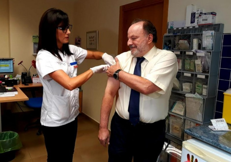 Flu vaccination in Spain brought forward to first half of October