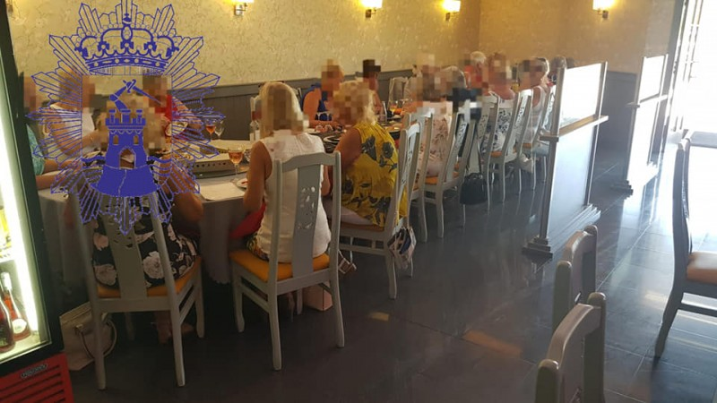 <span style='color:#780948'>ARCHIVED</span> - Mazarrón Chinese restaurant faces big fine as expat ladies lunch