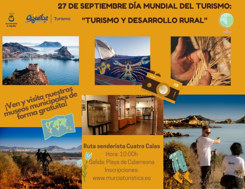 <span style='color:#780948'>ARCHIVED</span> - 27th September free walking route in Águilas ; the Cuatro Calas coastal walk