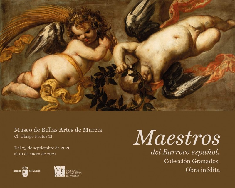 <span style='color:#780948'>ARCHIVED</span> - Maestros del Barroco español. Obra inédita. Colección Granados at the MUBAM Murcia until 10th January 2021