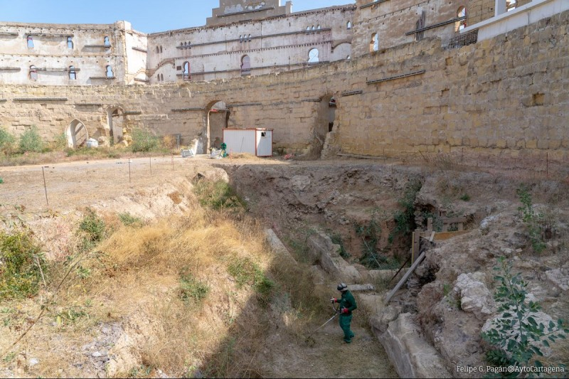 <span style='color:#780948'>ARCHIVED</span> - Work to resume on excavations of Roman Ampitheatre in Cartagena